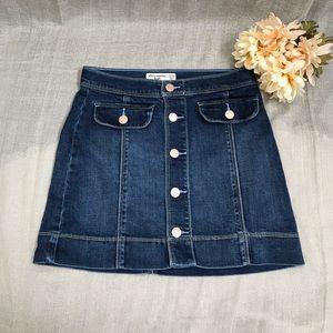 Abercrombie Kids Button Up Denim Skirt size 13/14